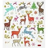 Hobby Design Sticker * Hirsche Rentier Reh Winter * Aufkleber 3452365