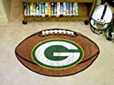 FANMATS 5755 NFL Green Bay Packers Football Rug