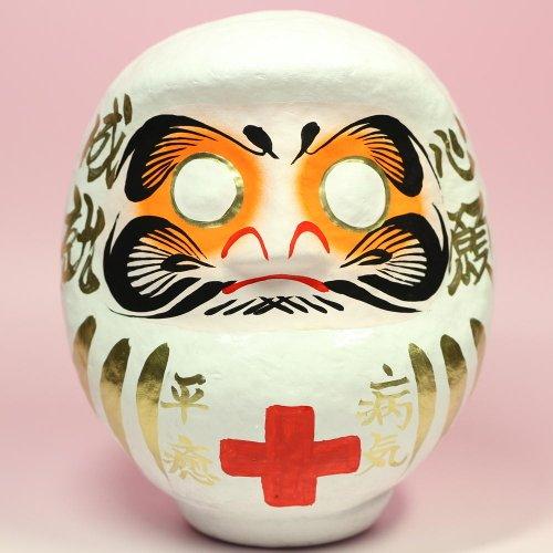 病気平癒お守りだるま 18cm | 高崎 だるま 達磨 置物 ダルマ daruma