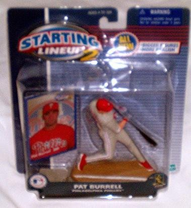 2001 Starting Lineup2 Pat Burrell Philadelphia Phillies