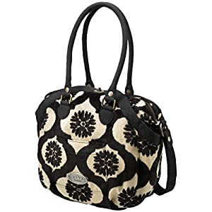 Spring 2012 Petunia Pickle Bottom Hampton Holdall Black Forest Cake Diaper Bag from Petunia pickle bottom