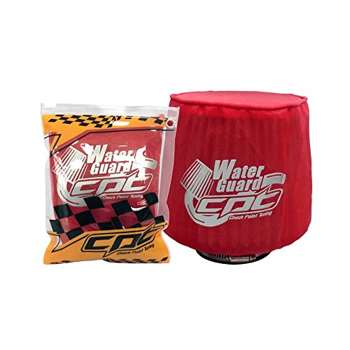 Water Guard Cold Air Ram Intake Pre-Filter Cone Filter Cover for VW Small Red CPT-WG-S-R (Small Cone Air Filter compare prices)