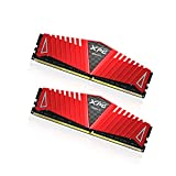 ADATA XPG Z1 DDR4 2400MHz (PC4 19200) 8GB (4GBx2) Memory Modules, Red (AX4U2400W4G16-DRZ)