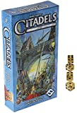 Citadels Game of Medieval Cities & Nobles _ Bonus 4 Gold Swirl (D6) Standard dice