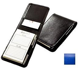 Raika RO 125 BLUE Note Case with Pen - Blue