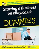 Starting a Business on eBay.co.uk for Dummies Front Cover