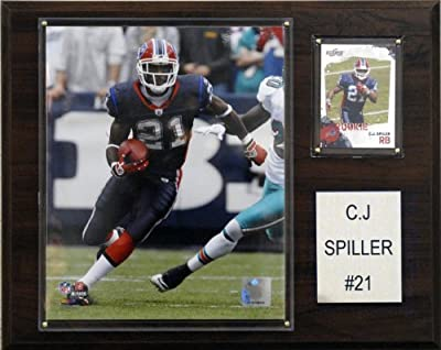 NFL C. J. Spiller Buffalo Bills Player Plaque