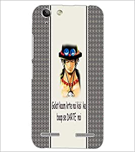 PrintDhaba Quote D-4801 Back Case Cover for LENOVO VIBE K5 (Multi-Coloured)
