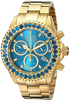 Invicta Men's 14449 Pro Diver Analog Display Swiss Quartz Gold Watch