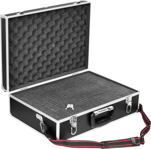 Orion 05999 Pluck-Foam Deluxe Large Accessory Case (Black) (Foam Storage Case compare prices)