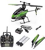 Corter Pro 100 (V911)- 4.5 Kanal RC ferngesteuerter Hubschrauber im Mega-Set, Heli mit 2,4GHz-Technik und Gyro-System, Ready-to-Fly, inkl. 2 x Akku + Ersatzrotoblätter-Set