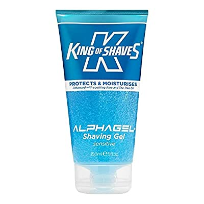 Best Cheap Deal for King of Shaves Alpha-Gel Shaving Gel, Sensitive, 5 Ounce from Universal Razor Industries Div of Kai-USA - Free 2 Day Shipping Available
