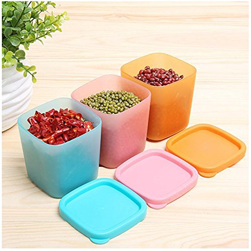 Mini Microwave Box Kitchen Refrigerator Sealed Seasoning Case Crisper Container