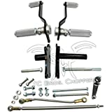 TC Bros. Choppers 102-0070 Sportster Forward Controls Kit for 5 Speed by TC Bros Choppers