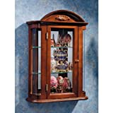 Rosedale Hardwood Wall Curio Cabinet