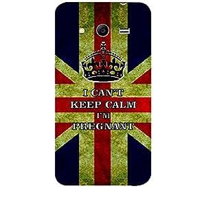 Skin4gadgets I CAN'T KEEP CALM I'm PREGNANT - Colour - UK Flag Phone Skin for SAMSUNG GALAXY CORE 2 (G3556d)