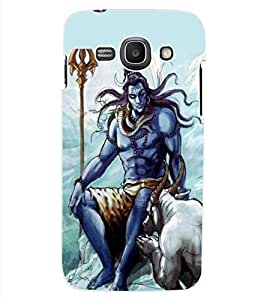ColourCraft Lord Shiva Design Back Case Cover for SAMSUNG GALAXY ACE 3 S7272 DUOS