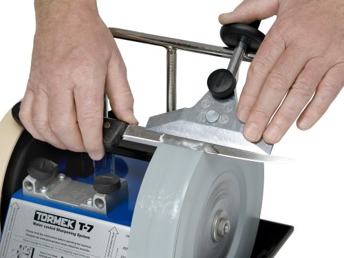 Long Knife Blade Sharpening Jig Tormek SVM-140. The Long Knife Jig That Handles Longer, Thinner Knives and Works With Your Tormek Sharpening System T-7, T-4, T-3, etc.