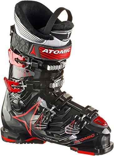 Atomic scarponi da sci da uomo, nero/rosso