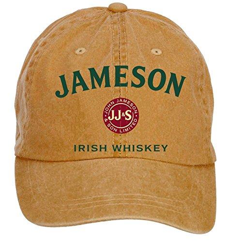 qikdg-custom-adjustable-jameson-irish-whiskey-logo-baseball-cap-washed-100-cotton-brown