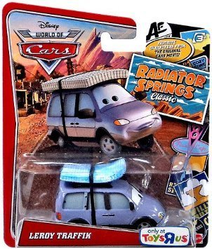 Disney/Pixar Cars, Radiator Springs Classic, Leroy Traffik Exclusive Die-Cast Vehicle, 1:55 Scale - 1