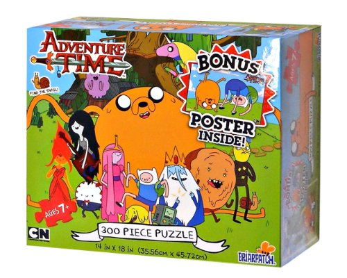 Adventure Time 300 Piece Puzzle with Bonus Poster Inside! by Briarpatch, Thomas