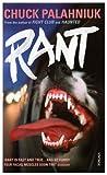 Rant (0099520850) by Chuck Palahniuk