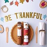Meri Meri Be Thankful Wood Napkin Ring Set