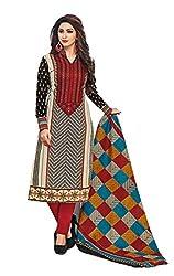 RK Fashion Womens Cotton Un-Stitched Salwar Suit Dupatta Material ( YOGESH-MCM-LIFESTYLE-SANA-151-Multi-Coloured-Free Size)
