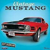 2017 Vintage Ford Mustangs Wall Calendar
