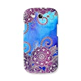 EYP Girly Floral Pattern Back Cover Case For Samsung Galaxy S3 Neo GT-I9300