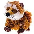 Sitting Plush Fox