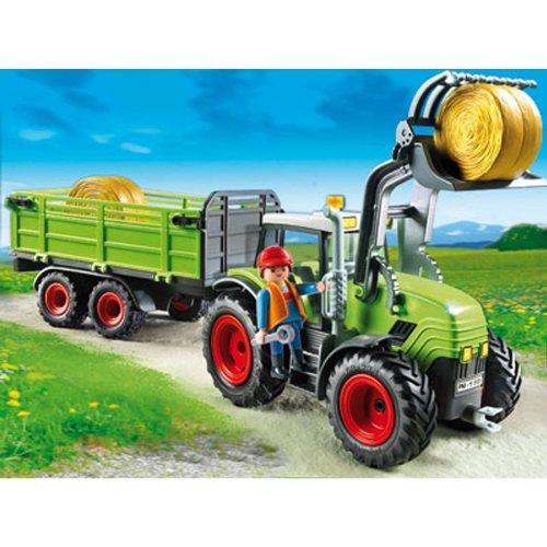 Playmobil: Riesentraktor mit Anhänger