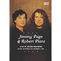 Jimmy Page &amp; Robert Plant:  Live At Irvine Meadows