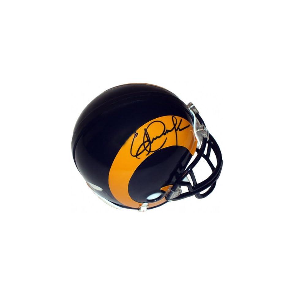 Eric Dickerson Autographed Los Angeles Rams Mini Helmet
