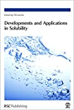 img - for Developments and Applications in Solubility: RSC book / textbook / text book