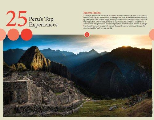 peru travel guide lonely planet pdf