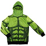 Marvel Avengers the Incredible Hulk Boys Character Hoodie