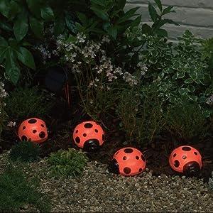 Click to buy LED Outdoor Lighting: Smart Solar Ladybug Solar Light Set from Amazon!