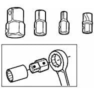 Do it Best 4-Piece Gear Wrench Adapter Set-GEAR WRENCH ADAPTER SET