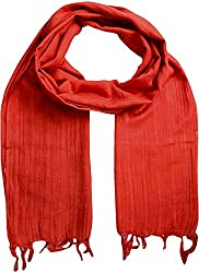 Sahiba Creation trendy and colourful women stole for all time wear((red)