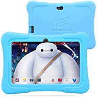 Dragon Touch 7-Inch Tablet with Silicon Case (Blue) - (Allwinner Quad Core 1.2 GHz , 8 GB RAM, Android 4.4)
