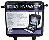 Crop In Style Rolling Bead Tote, Black