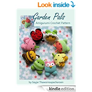 Crochet Patterns On Amazon : Amazon.com: Garden Pals Amigurumi Crochet Pattern (Easy Crochet Doll ...