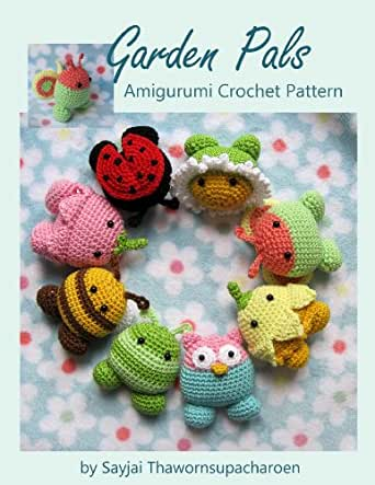 Amigurumi Magazine Subscription : Amazon.com: Garden Pals Amigurumi Crochet Pattern (Easy ...
