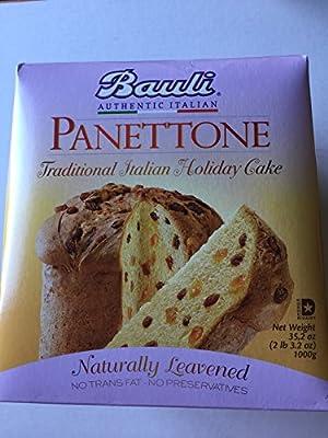 Bauli Panettone Italian Cake 35.2 Ounce Box from Bauli
