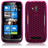 Terrapin Nokia Lumia 610 TPU Gel Case By - Pink