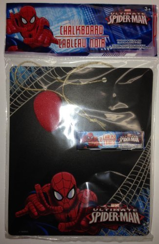 MARVEL SPIDER-MAN Chalkboard Set