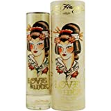 ED HARDY LOVE & LUCK by Christian Audigier EAU DE PARFUM SPRAY 3.4 OZ for WOMEN ---(Package Of 2)