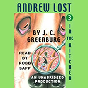 Andrew Lost in the Kitchen, Book 3 Audiobook